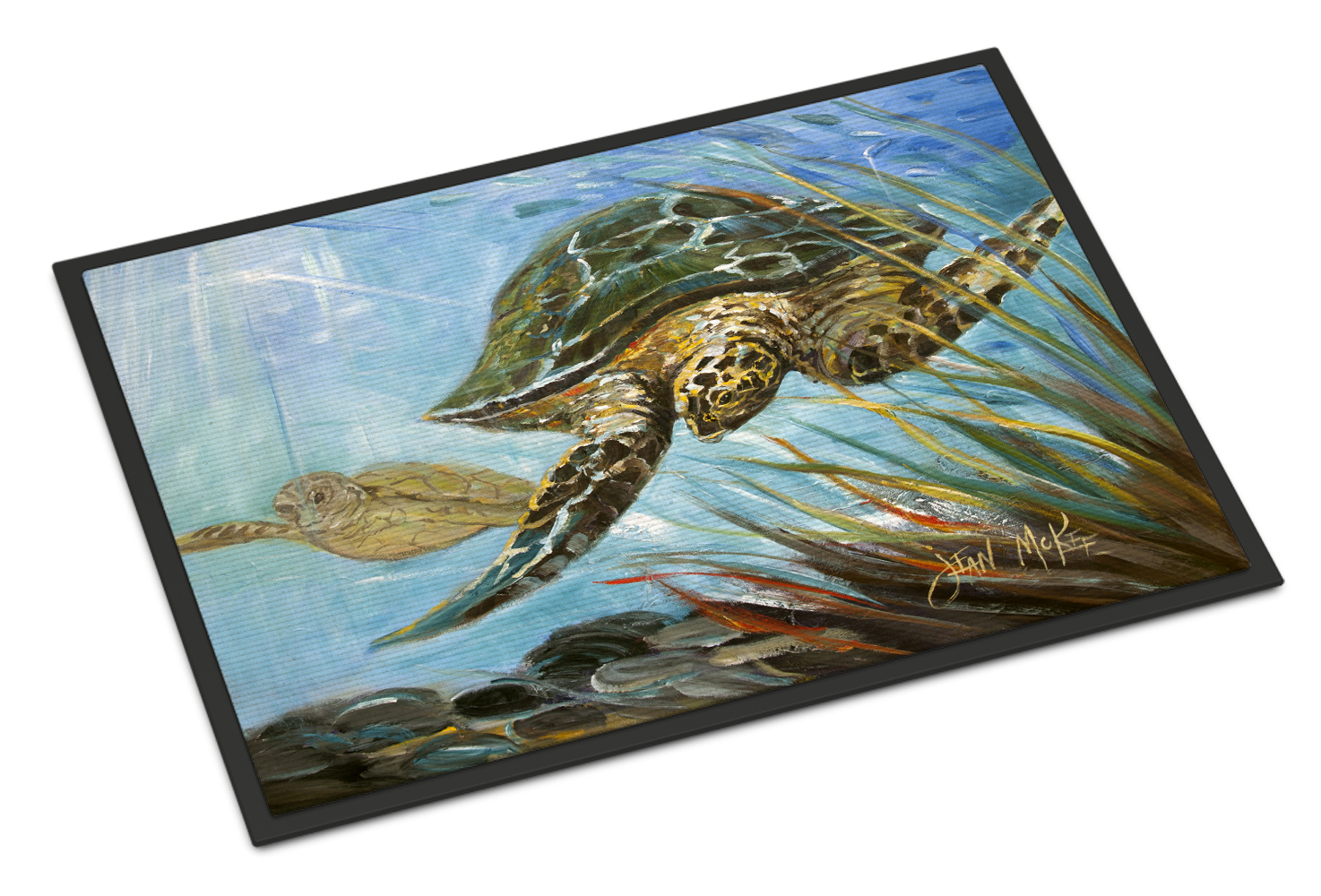 Loggerhead Sea Turtle Doormat by Caroline's Treasures
