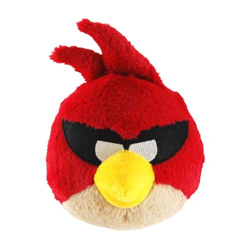 """Angry Birds Space 5"""" Plush With Sound: Super Red Bird"""