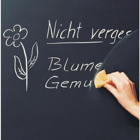 Vinyl Chalkboard Removable Wall Stickers Blackboard Decals 200X45cm 5 Chalks