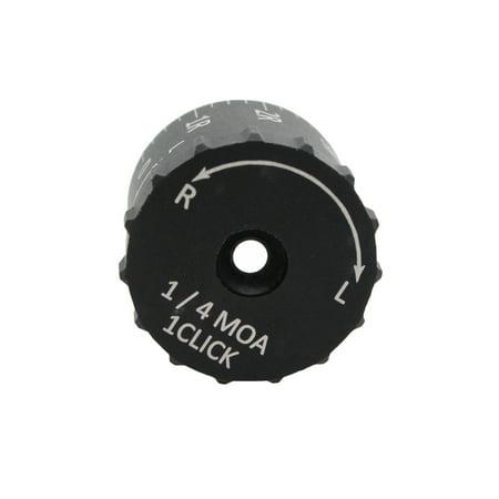 Sightron Tactical Turrets 1/4 MOA Click Value, 5L-5R MOA White Engraving,