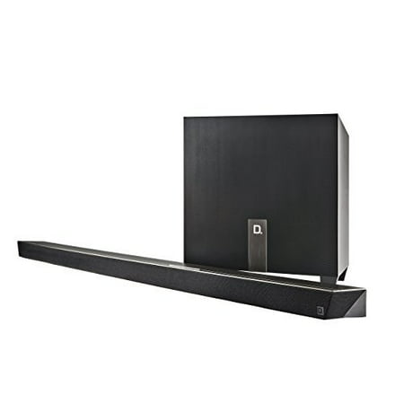 Definitive Technology VGBC-A W Studio Micro Ultra-Slim 3.1 Wireless Sound Bar & Wi-Fi Music Streaming System