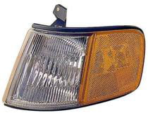 CPP Passenger Side DOT//SAE Compliant Corner Light for 94-97 Honda Accord HO2551109