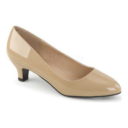 Pleaser Ballet Heels (Women's Pleaser Pink Label Fab-420 Kitten Heel)