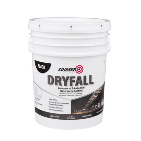 Waterborne Pool Paint (Zinsser 293233 Dryfall Commercial and Industrial Waterborne Coating,)