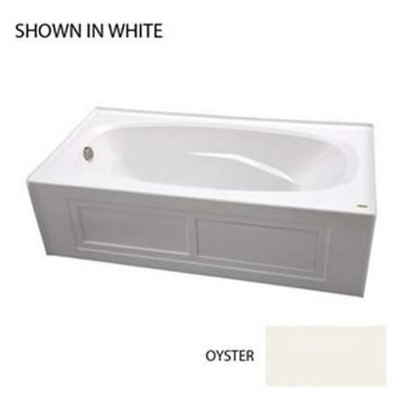Jacuzzi Amiga Soaking Bathtub AMS7236BLXXXXY Oyster (New Damaged Box) Jacuzzi Bathtub Alcove