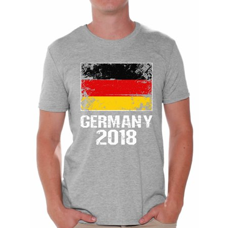 c41d9d7b4 Awkward Styles Germany 2018 T Shirt for Men Flag of Germany Men s Tee  Shirts Germany Soccer Shirt for Football Fans Germany Soccer Gifts for Him  Germany ...