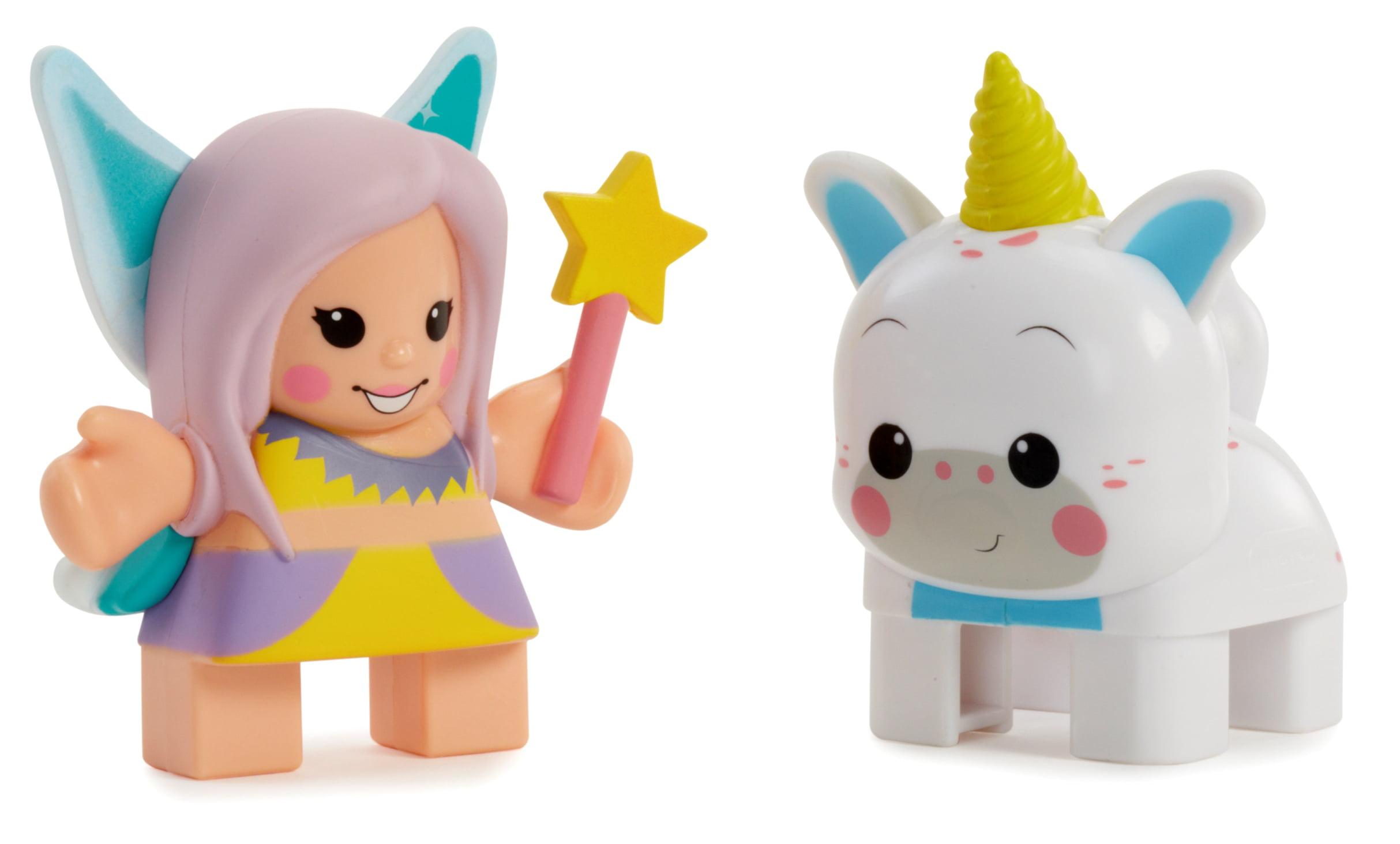 Waffle Blocks Double Figure Pack- Fairy  Unicorn by MGA Entertainment