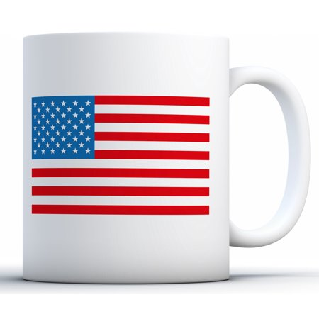 Awkward Styles USA Mug USA Coffee Mug American Flag Themed Patriotic Gifts 4th of July Accessories 4th of July Kitchen Decoration Independence Day USA Flag Mug Coffee Lovers Gifts