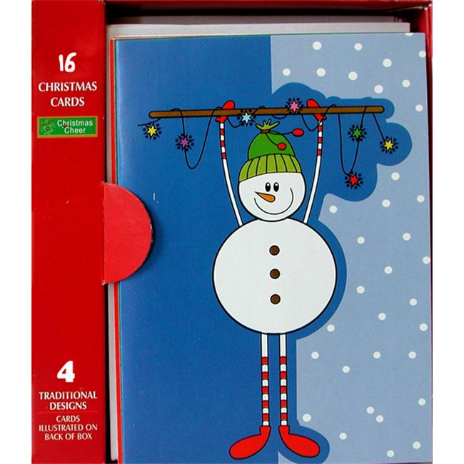 DDI 1489329 Christmas Cards Boxed, Case of 60