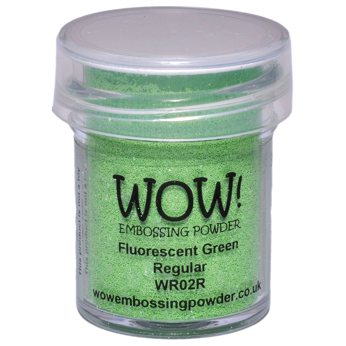 WOW! Embossing Powder 15ml-Fluorescent Green
