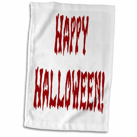 Bloody Gore (3dRose Bloody Gore Happy Halloween - Towel, 15 by)