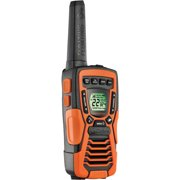 Cobra Rugged 37-Mile 2-Way Radio - Walkie Talkies - Waterproof with Built-in NOAA Weather & Emergency Radio