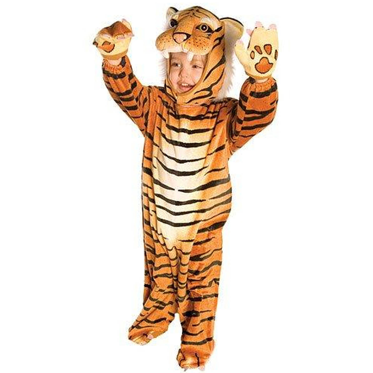 Brown Tiger Toddler Halloween Costume, 3T-4T