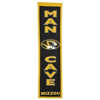 NCAA Man Cave Banner, University of Missouri Tigers