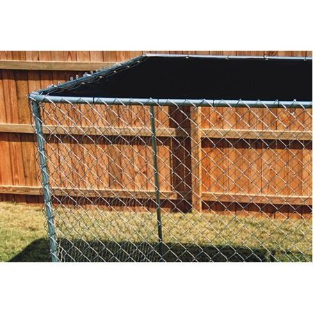 9'8''ft. X 10ft. Black Dog Kennel Shade Covers / Sunblock Tops(COVER ONLY)