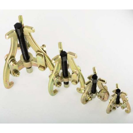 ToolUSA ATE 4 Piece Heavy Duty 3 Jaw Gear Puller Set : GEAR-40-YT ()