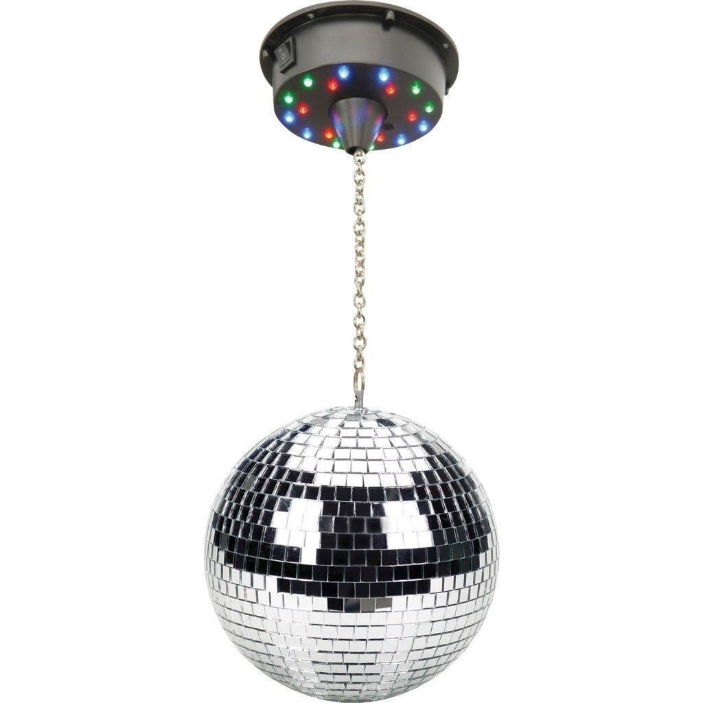 "Lightahead 6"" LED Mirror Disco Ball Party Light Disco Party DJ Light Effect Mirror Ball by Supplier Generic"