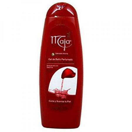 myrurgia maja perfumed bath and shower gel, 13.5 ounce