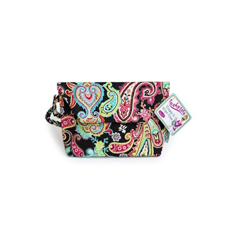 Sister Chic- Tushy Tote, Diaper and Wipe Case, Patty Paisley (Paisley Diaper Clutch)