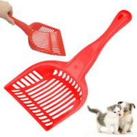 "Pet Scoop 13"" Dog Cat Poop Waste Litter Box Scooper Tool Clean Sanitary Plastic"