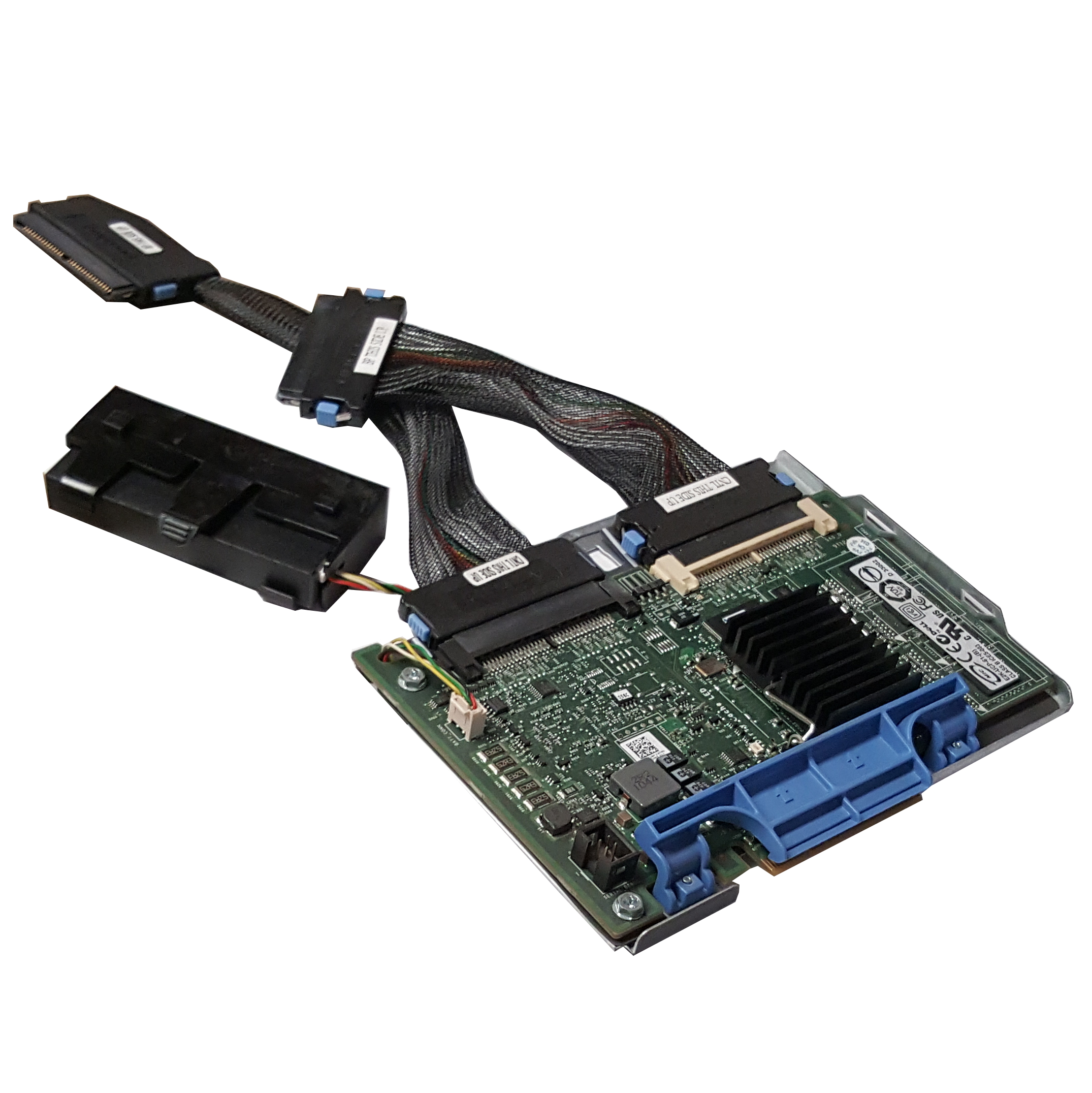 Dell H726F PERC 6i/R SAS PCIe RAID Controller Card w/ Cables & Battery Refurbished
