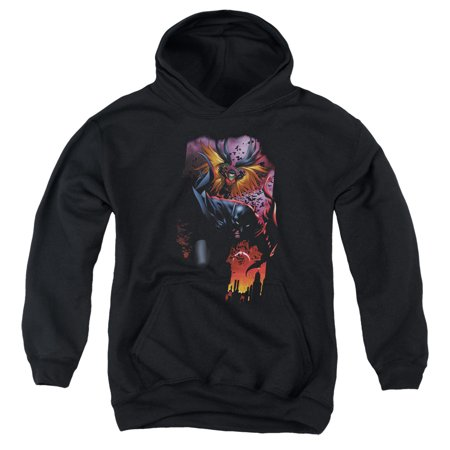 Batman - Batman & Robin #1 - Youth Hooded Sweatshirt - Small