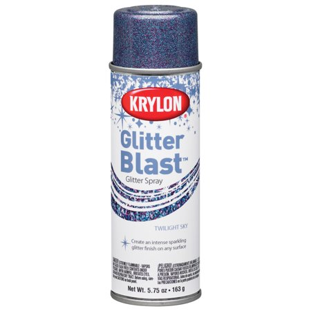 Krylon Glitter Blast Glitter Spray Paint, 5.7 oz., Twilight Sky