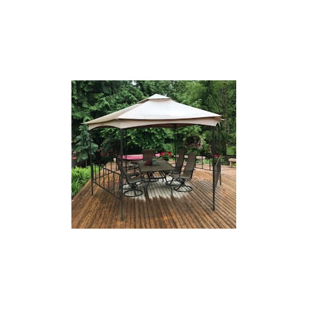 Garden Winds Replacement Canopy for the Fred Meyer Hexagon Gazebo, Riplock 350