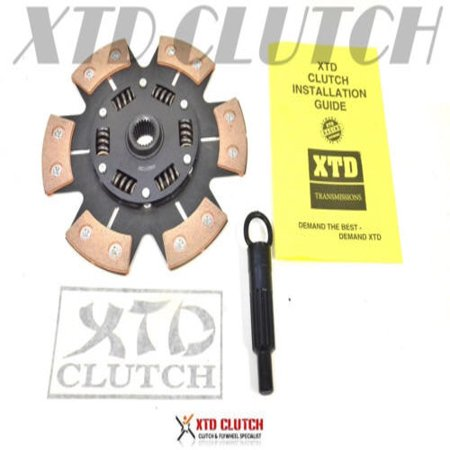 XTD® 6 PUCK RACING STAGE 3 CLUTCH DISC AND TOOL MR2 CELICA TURBO 3SGTE