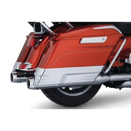 Kuryakyn 7190 Saddlebag Extensions - Chrome