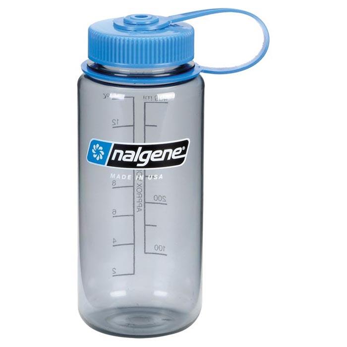 Nalgene 16 oz Tritan Wide Mouth Water Bottle - Purple/White