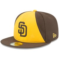 San Diego Padres New Era Authentic Collection On-Field 59FIFTY Fitted Hat - Brown/Gold