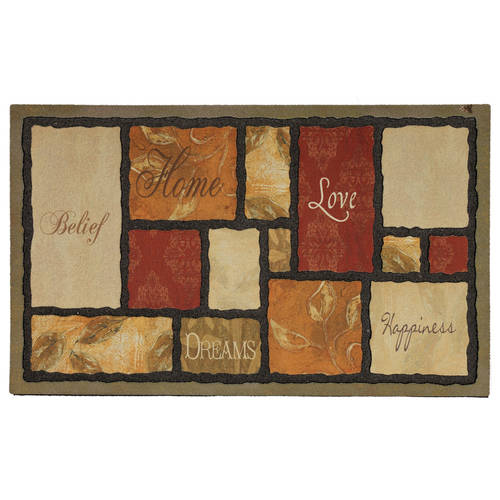 "Mohawk Home Tapestry Spice Doormat, 1'6"" x 2'6"""