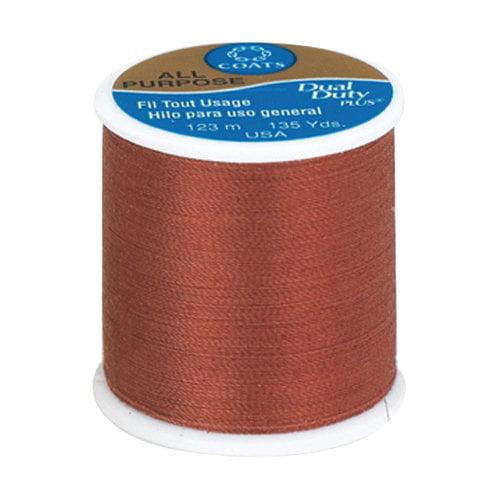 Coats & Clark All Purpose Thread, 135 yds, Rust