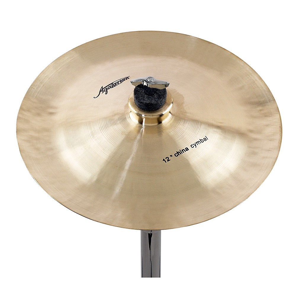 Agazarian Trad China Cymbal 12 in.
