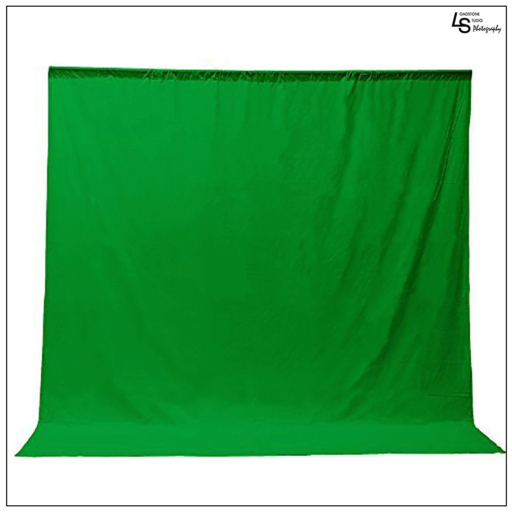 Loadstone Studio Photo Video Photography Studio 9x13ft Green Fabricated Chromakey Backdrop Background Screen, WMLS1532