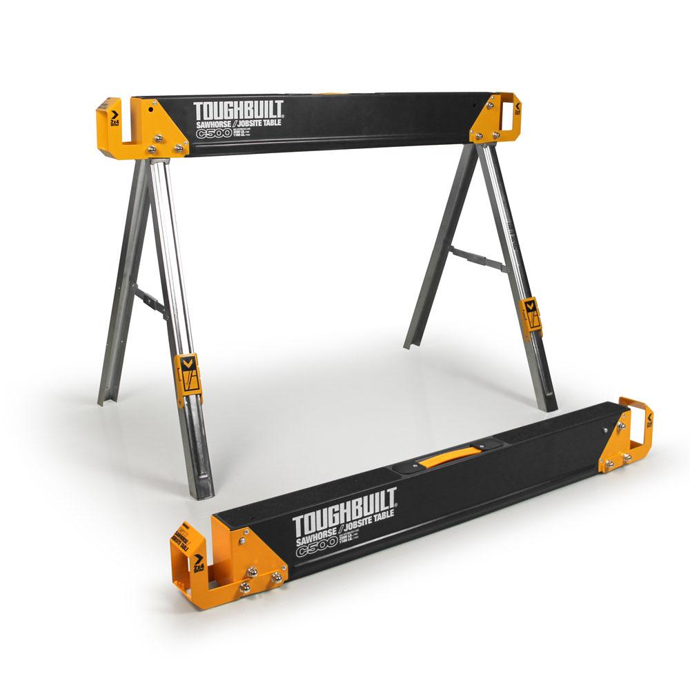 C500 Sawhorse   Jobsite Table by ToughBuilt Industries, Inc.