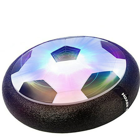 Hover Ball Soccer Toy with Powerful LED Light for Boys Girls Sport Children Toys Training Football for Indoor or Outdoor with Parents Game](Soccer Toys)