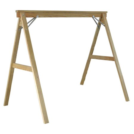Hershy Way A-Frame Pine Wood Porch Swing Stand - Walmart.com