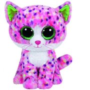 Sophie Pink Polka Dot Cat Boo Small - Stuffed Animal by TY (36189)