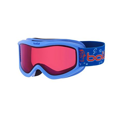 Bolle Winter Amp Blue Monster Vermillion 21518 Ski Goggles AF Double (Bolle Womens Ski Goggles)