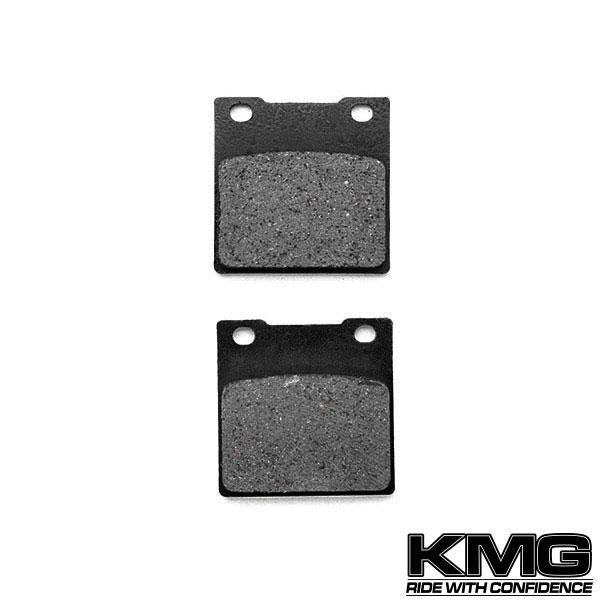 KMG 1992-1993 Suzuki GSXR 600 Rear Non-Metallic Organic NAO Disc Brake Pads Set