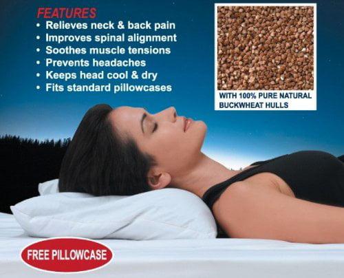 Wonder Buckwheat Pillow by US JaClean