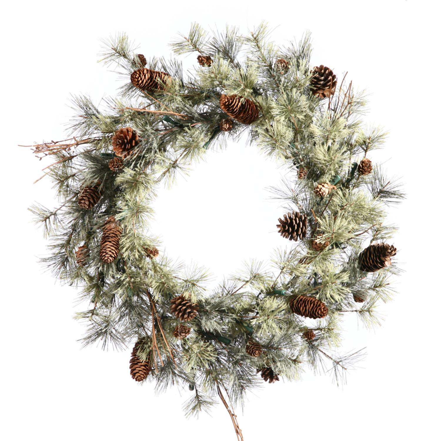 "36"" Dakota Pine Artifical Christmas Wreath - Unlit"