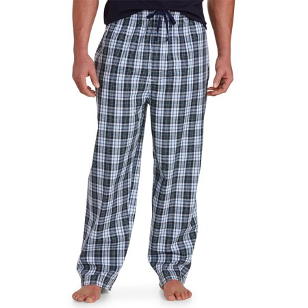 Big And Tall Plaid Robe - Men's Big & Tall Harbor Bay Plaid Lounge Pants
