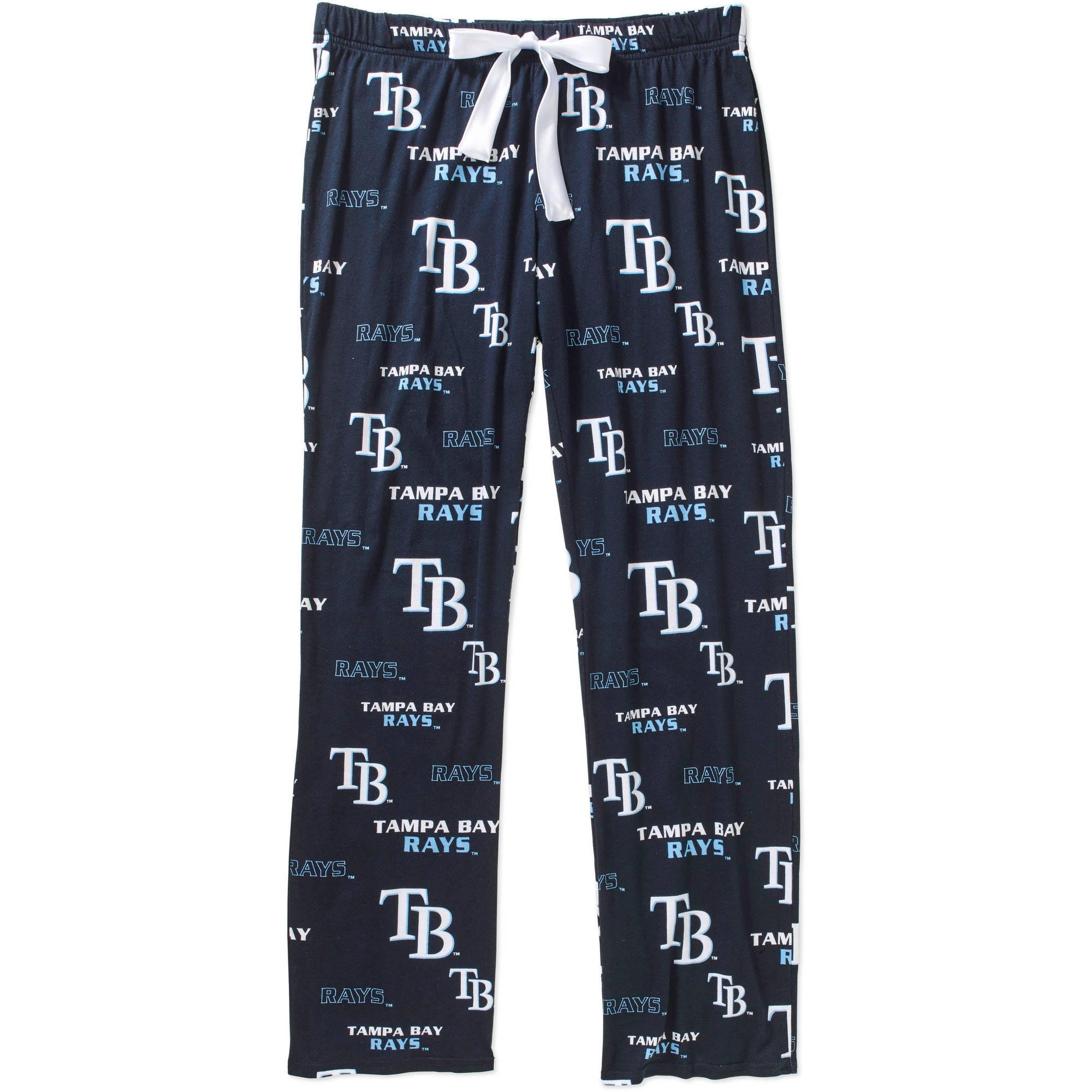 MLB Womens Tampa Bay Rays Knit Sleep Pant