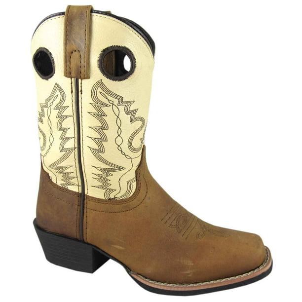 Smoky Mountain Youth Mesa Boot 6 Big Kid Brown//Camo