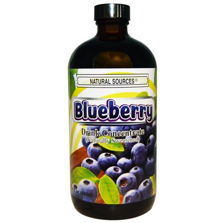 Natural Sources Blueberry Juice Concentrate, 16 Oz