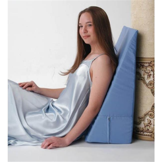 AZ-74-5013-12BL Bed Wedge, 12 in. Foam Wedge Bed Pillow