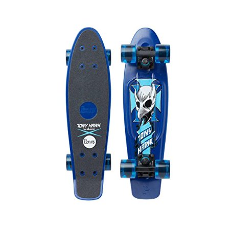 Penny Graphic Skateboard - Tony Hawk Crest Blue